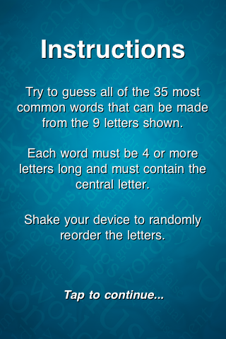 Screenshot WordStorm Lite